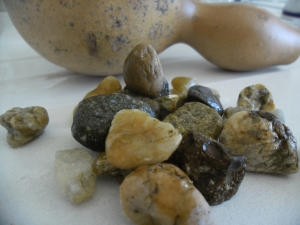 the stones I used to clean the insides