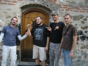The churchkeeper trusted us with the keys