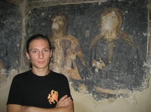 Vasil and the mural