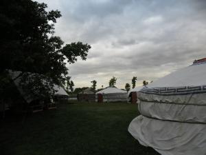 Mongol camp
