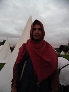 Stefan hooded in byzantine fashion
