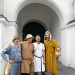 Moscow medieval festival