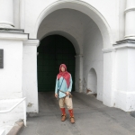 In front of St.Sofia monastery - female monastary for imprisoning young noble women