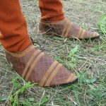 carved leather medieval shoes 3