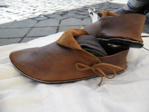 medieval shoes
