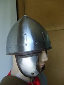 Late roman helmet