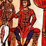 Khan Omurtag in the 12th century manuscript of John Skylitzes