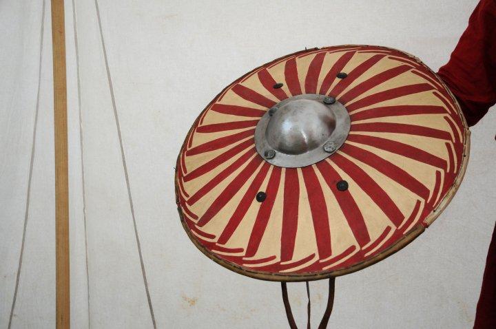 Two Bulgarian Round Shields