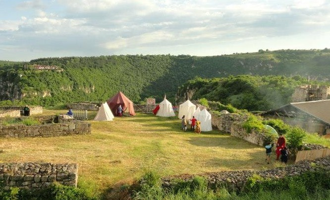 Medieval camp Cherven - Review